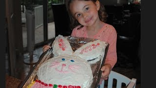 Baking With Kids: How To Make A Bunny Cake