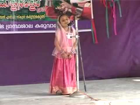 Mappila song by a cute small girl badarul huda famous