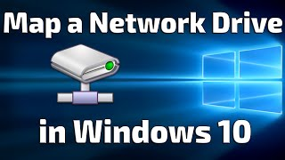 Map A Network Drive In Windows 10
