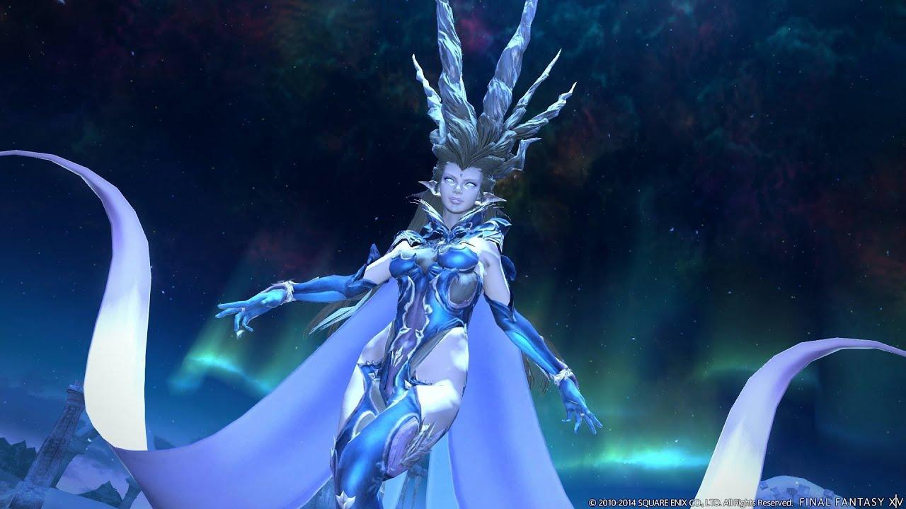 Shiva Fight In Ffxiv Youtube