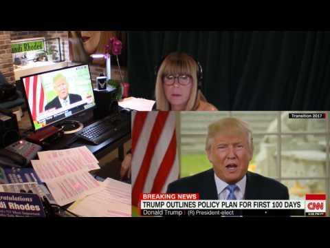 11-22-16  Trump Calls Media Meeting And Berates Them, Calls Them Liars And Threatens Them.