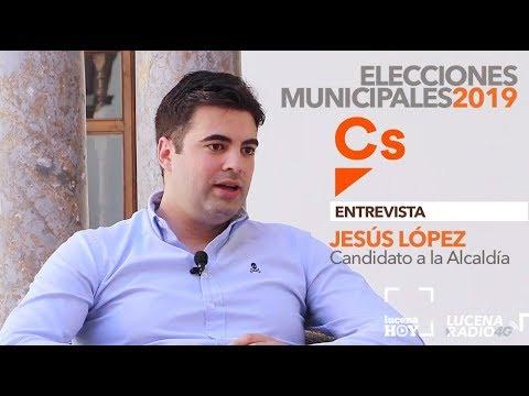 VÍDEO: ELECCIONES MUNICIPALES LUCENA 2019: Entrevista a JESÚS LÓPEZ (Ciudadanos)