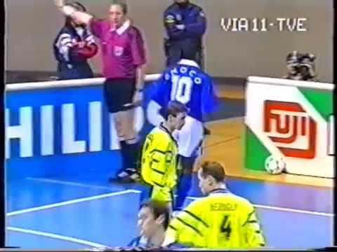 Чемпионат Мира по футзалу 1996 Украина   Бразилия