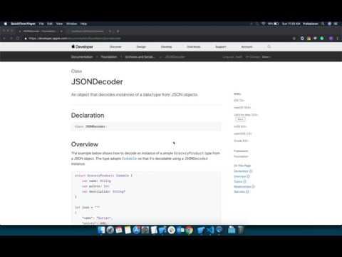 JSONDecoder - Parsing JSON response using JSONDecoder in Swift-4.2 thumbnail