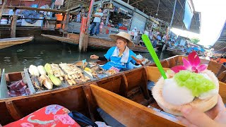 Thai Street Food Damnoen Saduak Floating Market