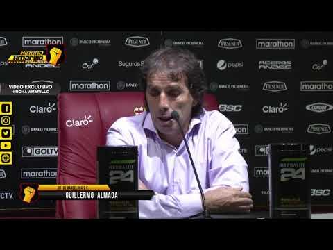Guillermo Almada I Declaraciones Rueda de Prensa Barcelona - Gye City