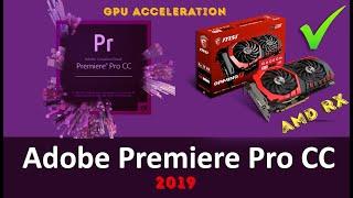 GPU acceleration unavailable in adobe premiere pro 2017