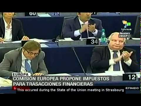 European commission proposes a tax in the eurozone