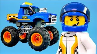 LEGO City Monster Truck Animation Video