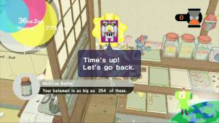 Katamari Forever (PS3) - Make a Star 1 - Playtime (36cm2mm, score 100) (9/28/09) (HD 720)