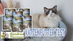 Katzenfutter SANDRAS SCHMANKERL im Test | Nassfutter für Katzen | JulisTierfuttertest #15
