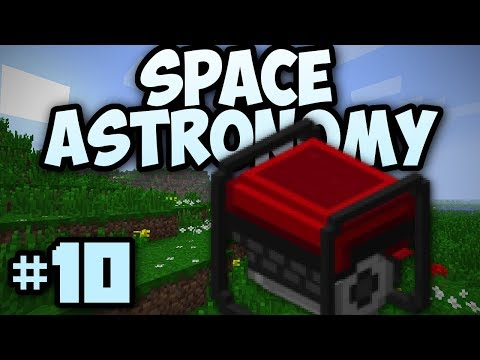 Minecraft- Space Astronomy [10] Power From Lava!