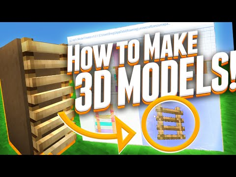 HOW TO MAKE A 3D MINECRAFT RESOURCE PACK! (Conclusive Guide)