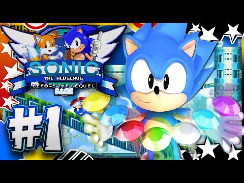 Sonic Before the Sequel Part 1 - Hilltop Heights BEST FAN GAME EVER!