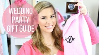 Wedding Party Gift Guide: Bridesmaids, Groomsman, In Laws, Parents, Husband | hayleypaige