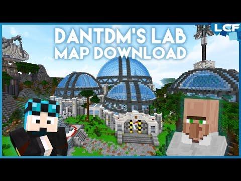 How to get DanTDM's new lab on Minecraft PC!