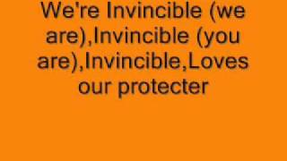 Tinie Tempah ft. Kelly Rowland Invincible [Lyrics on Screen]