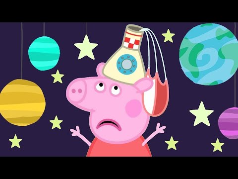 Peppa Pig Official Channel 🚀 Peppa Pig's Fun Time At The Space Museum