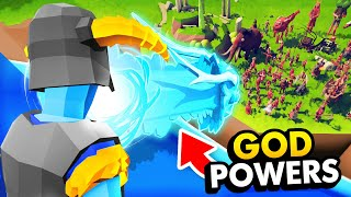 Secret DRAGON SHOUT God Powers VS Every Unit In TABS (Totally Accurate Battle Simulator Gameplay)