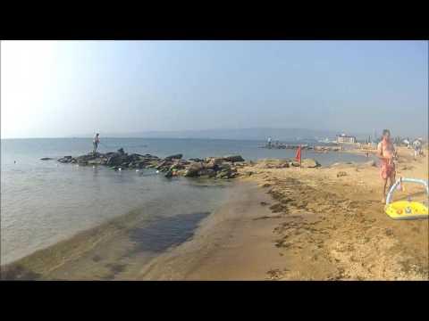 Золотые пески Пляж.  Феодосия - август 2016.Подводная съёмка