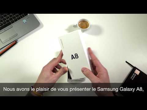 Unboxing du Samsung Galaxy A8