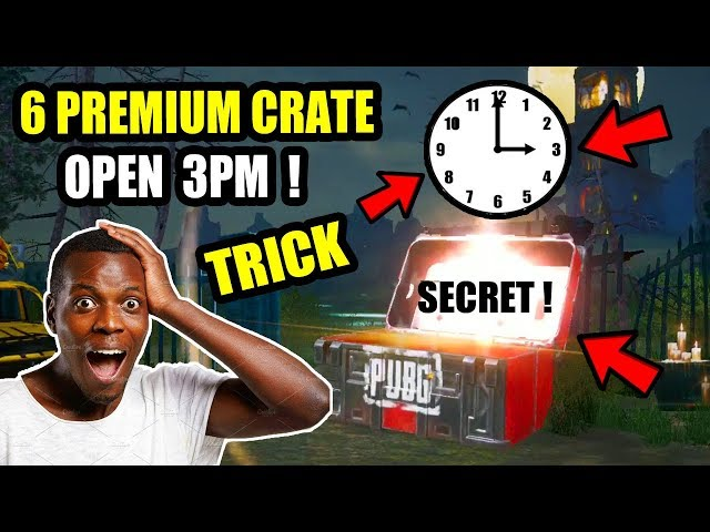 3 PM SECRET TIME REVELED IN PUBG MOBILE ! What is the best time to open a pubg crate ?