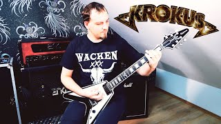 Krokus - Rockin' in the Free World - Guitar Cover