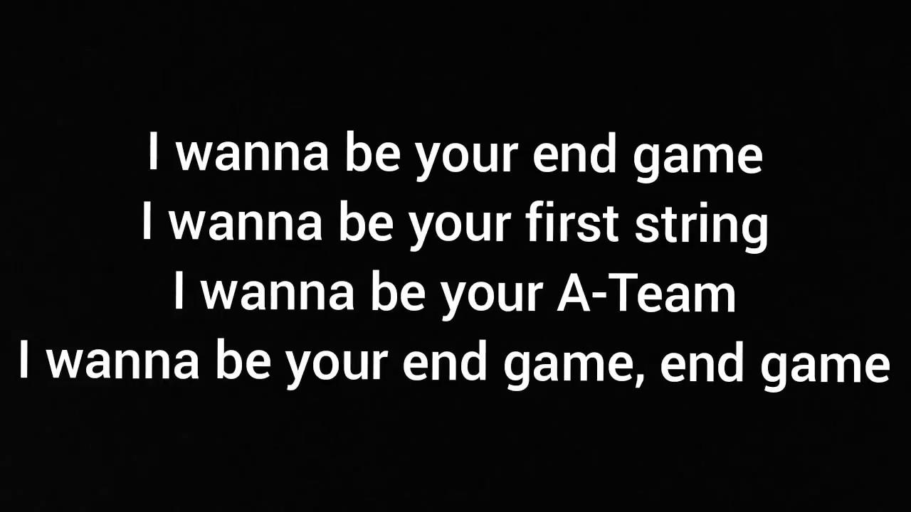 Taylor swift end game lyrics ft ed sheeran future youtube taylor swift end game lyrics ft ed sheeran future stopboris Images