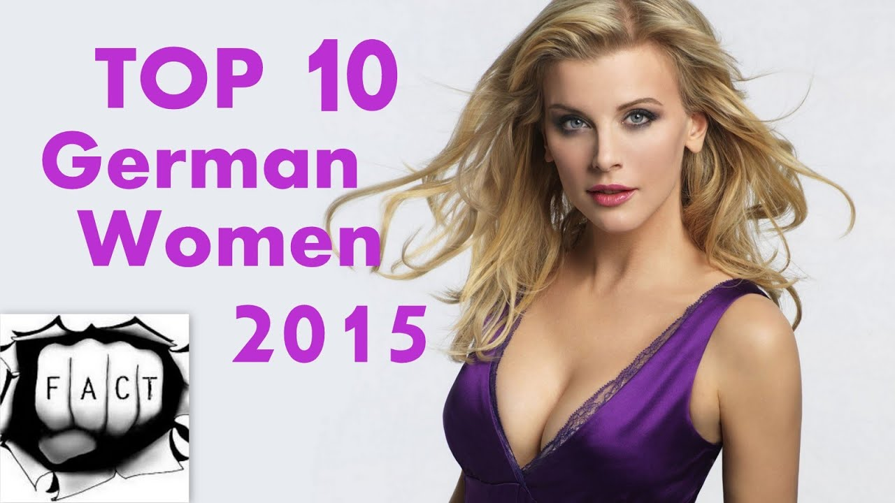 top 10 most beautiful german women 2015 youtube