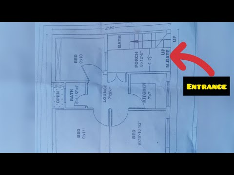 Repeat 3 Marla Beautiful House Map and Constructin by RealEstate TV