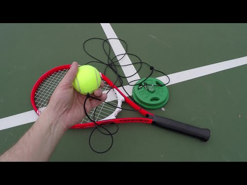 Tennis Trainer, Make One Better Than The Rest For $10 Or Less - Tutorial