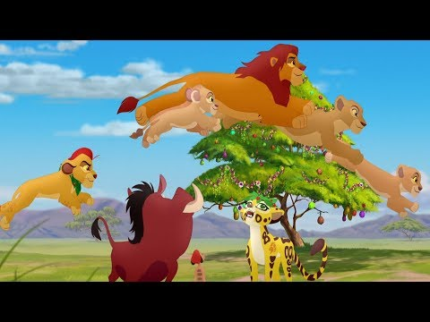 Lion Guard: The Twelve Ways of Christmas Song | Timon and Pumbaa's Christmas HD Clip