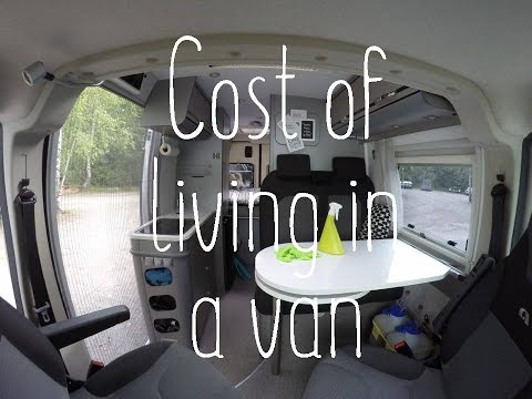 Cost of living in a van
