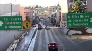 Avenida Independencia, Chihuahua, México 03/Jan/2014 メキシコ、チワワ市インデペンデンシア通り