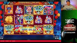 Fortunes of the Dead slots with multiple BONUS LIVE [Online Gambling with Jersey Joe # 10]