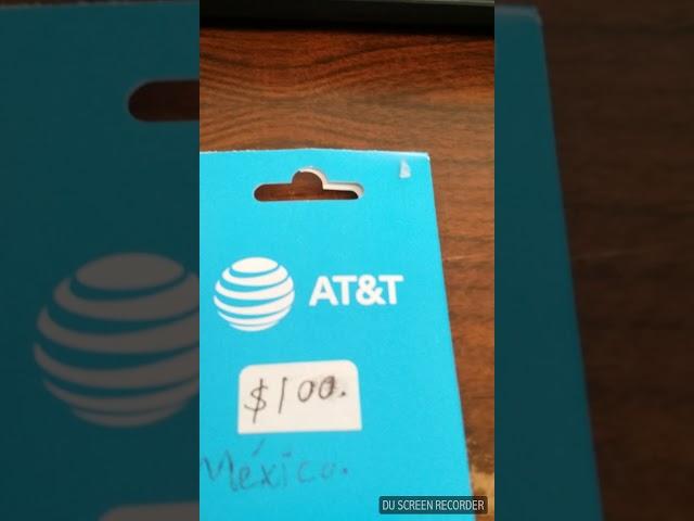 Activar Chip AT&T MEXICANO,,cuando es nuevo.