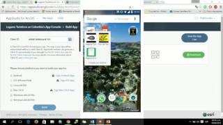 Creando geoapps en diferentes plataformas (AppStudio for ArcGIS) Parte I