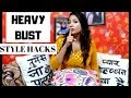 Styling Tips for Heavy BREAST Women | Heavy Bust fashion Tips & Outfits | Divya Nagpal