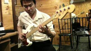 Mr Briefcase - Lee ritenour  bass cover by ซันเต๋อ.MOV