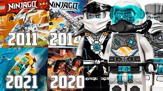 ВЕСЬ Транспорт Зейна ЛЕГО Ниндзяго 2011-2021 (Lego News-468)