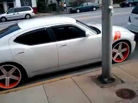 Dodge Charger Lowered On 22 S Youtube