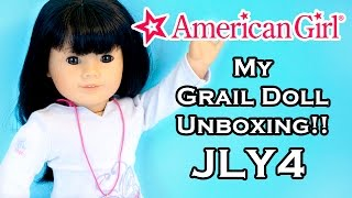 Grail American Girl AG Doll Unboxing - Just Like You #4 JLY4 - Mini Me!!