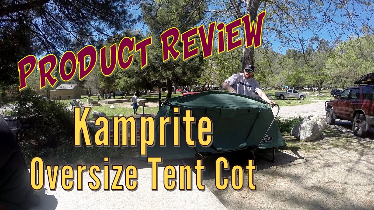 K&-Rite Oversize Tent Cot - Product Review & Kamp-Rite Oversize Tent Cot - Product Review - YouTube