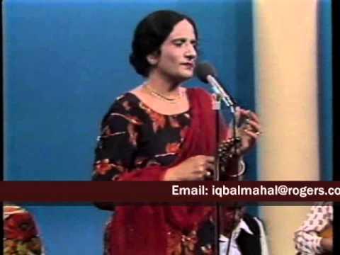 SURINDER KAUR - TILLE WALEYA - concert  in Canada 1980