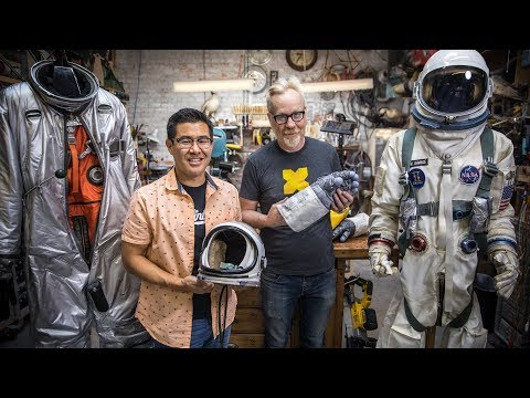 Adam Savage Meets the Spacesuits from First Man!