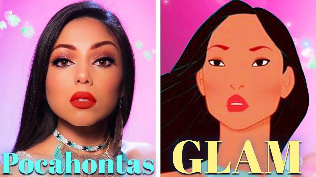 Disney pocahontas makeup youtube disney pocahontas makeup baditri Images