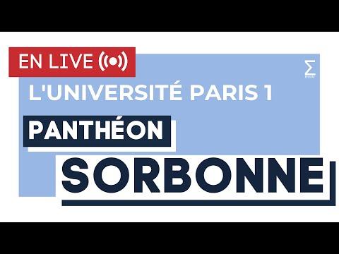 L'Université Paris 1 Panthéon Sorbonne - Live Thotis