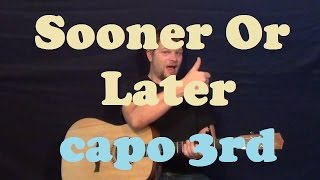 Sooner or Later (Breaking Benjamin) Easy Guitar Lesson Capo 3rd - Licks TAB How to Play Tutorial