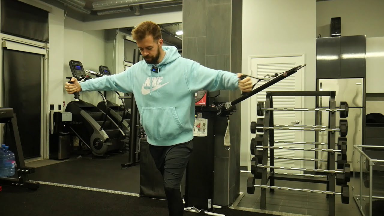 How to perform: Cable chest fly