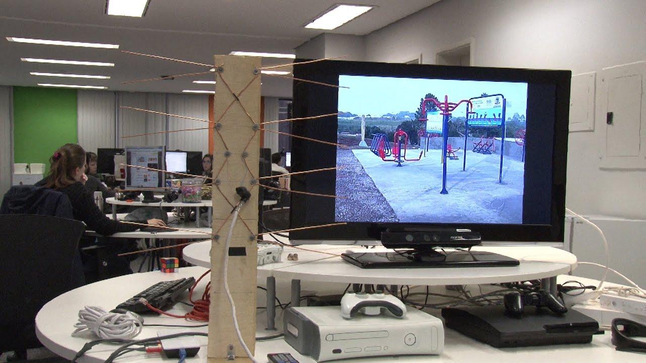 Como construir a sua pr pria antena de tv digital rea 42 for Antenas de tv interiores